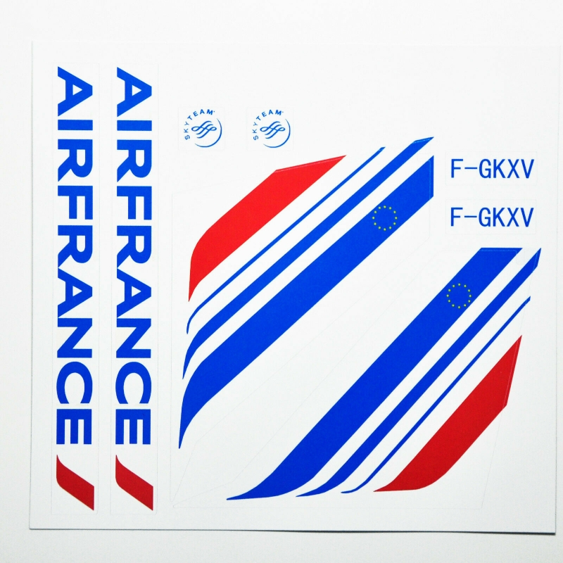 Custom sticker for MOC LEGO 3182 7893 7894 France Airways, Premium quality sticker only.