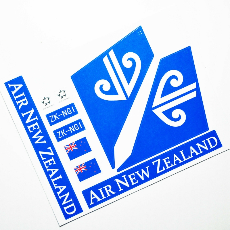 Custom sticker for MOC LEGO 60104 Air New Zealand Airways, Premium quality sticker only.