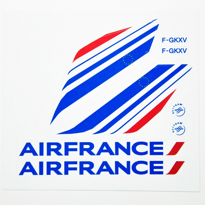 Custom sticker for MOC LEGO 3181 France Airways, Premium quality sticker only.