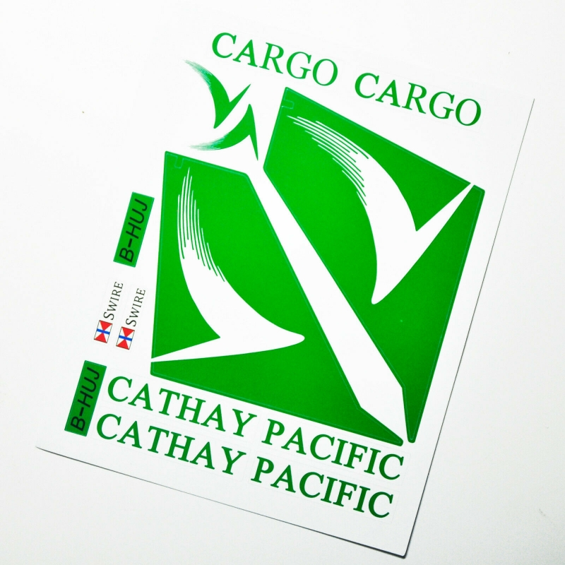 Custom sticker for MOC LEGO 60022 Cathay Pacific Airways, Premium quality sticker only.