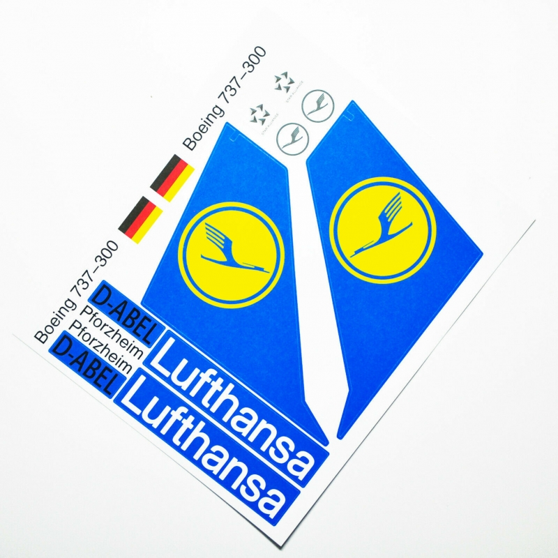 Custom sticker for MOC LEGO 60104 Lufthansa Airways, Premium quality sticker only.